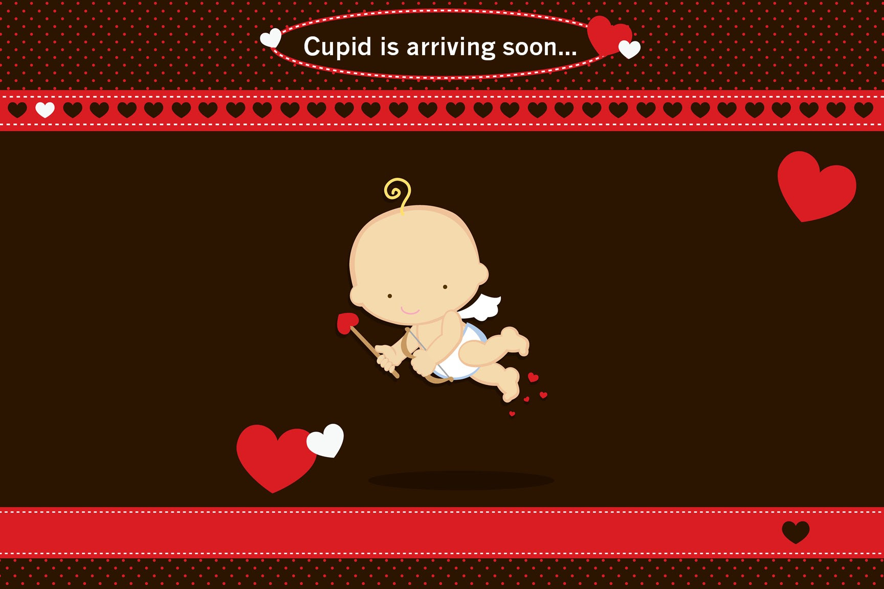 Cupid Baby Valentine S Day Baby Shower Place Mats Cupid Baby Valentine S Day Place Mats