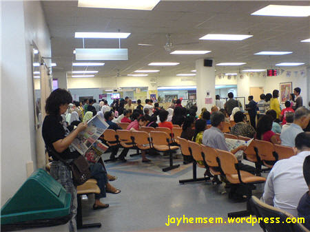 Hospital Selayang Queue Bapak Punya Panjang