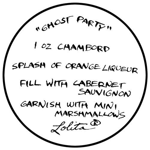 Ghost Party Drink Recipe
