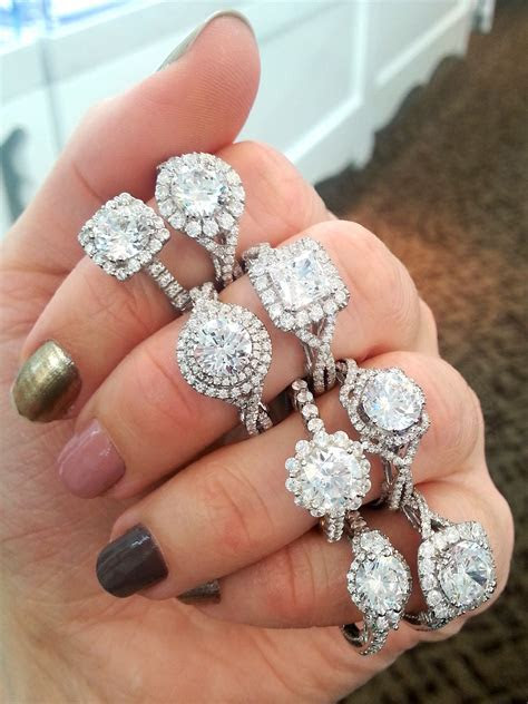 Verragio halo engagement rings!   Engagement Rings