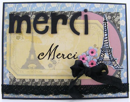 Merci Merci Card