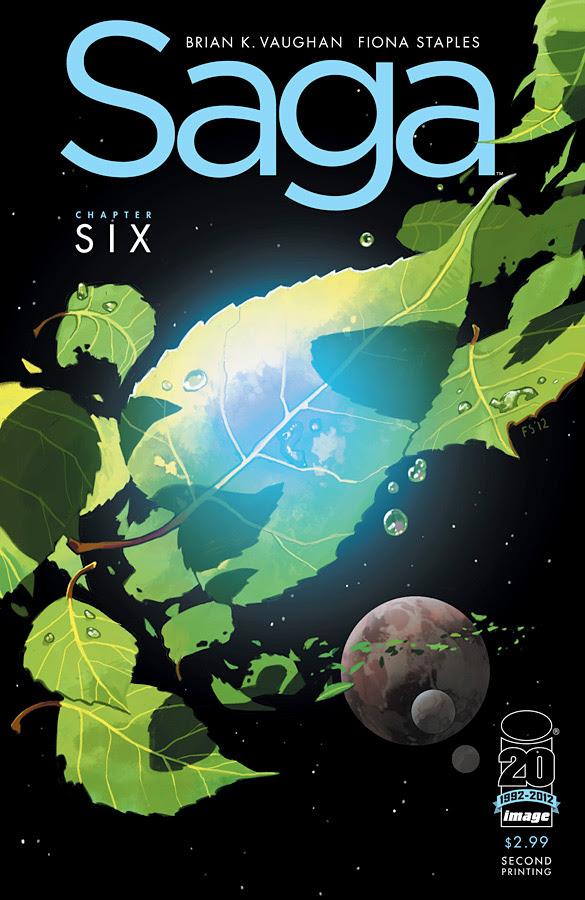 Saga #6 2nd printing cover