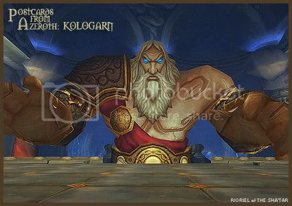 Postcards from Azeroth: Kologarn, by Rioriel Ail'thera