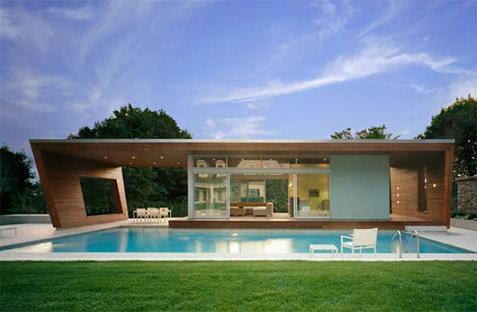 Casa con piscina min