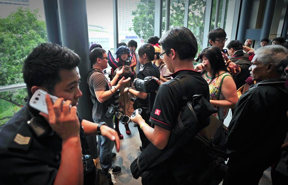 Underboob Cosplay in Singapore