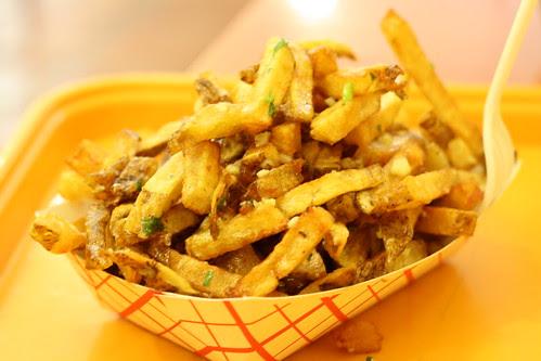 Garlic Fries at Edzo's