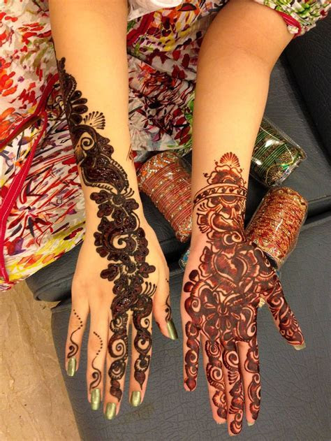 Bridal Mehndi Day Henna Designs For Girls   XciteFun.net