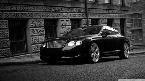 Bentley Continental GT Black 4K HD Desktop Wallpaper for 4K Ultra HD TV ? Wide & Ultra