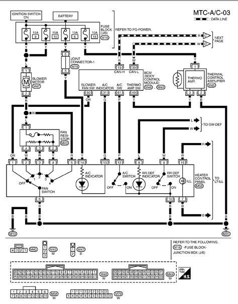 Nissan Micra Wiring Diagrams 2003 2005 (24) PDF