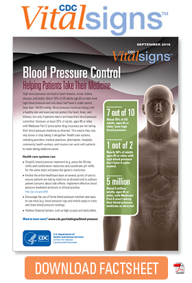 Download Factsheet: Blood Pressure Control