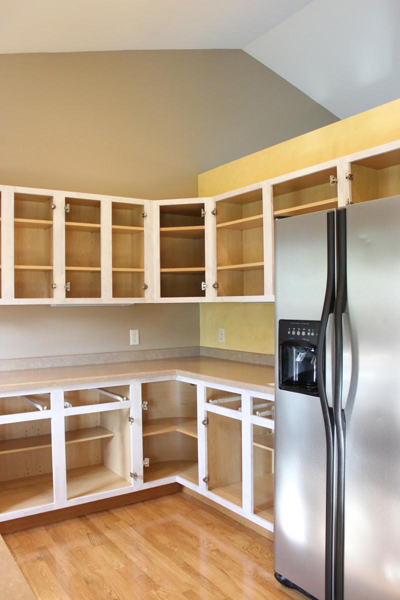 Painting Kitchen Cabinets - Our Process - Saffron Avenue