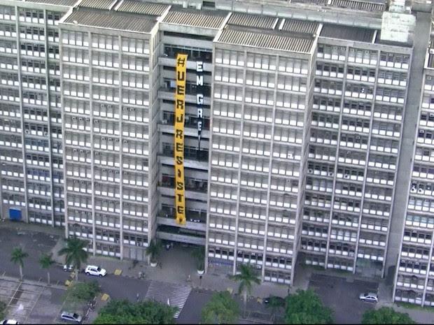 Universidade está em greve há um mês (Foto: Reprodução/TV Globo)