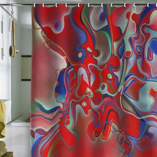 Inexpensive Shower Curtain Probbing (by DENY Designs) » Shop ...