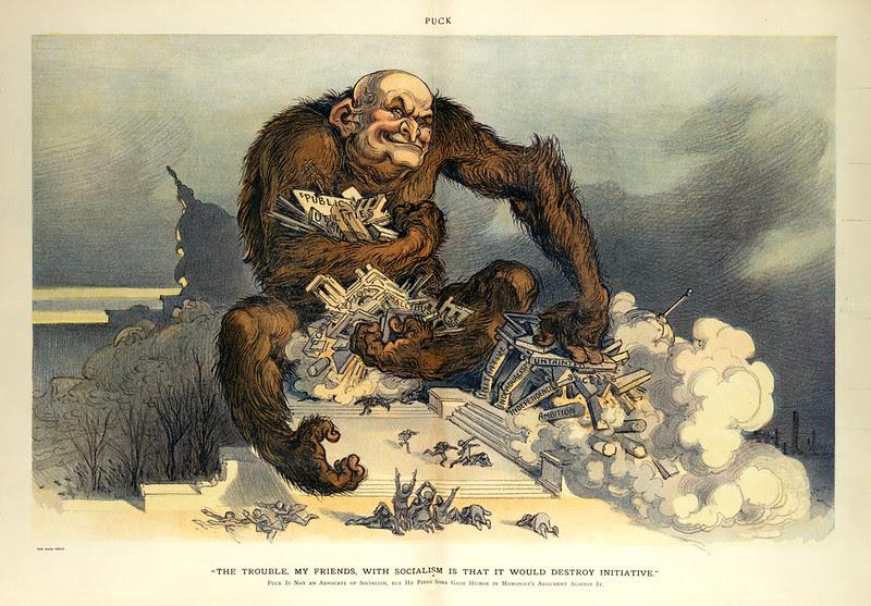 Udo J. Keppler - Illustration in Puck, v. 66, no. 1715 (1910 January 12), centerfold