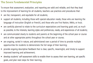 7 fundamental principals