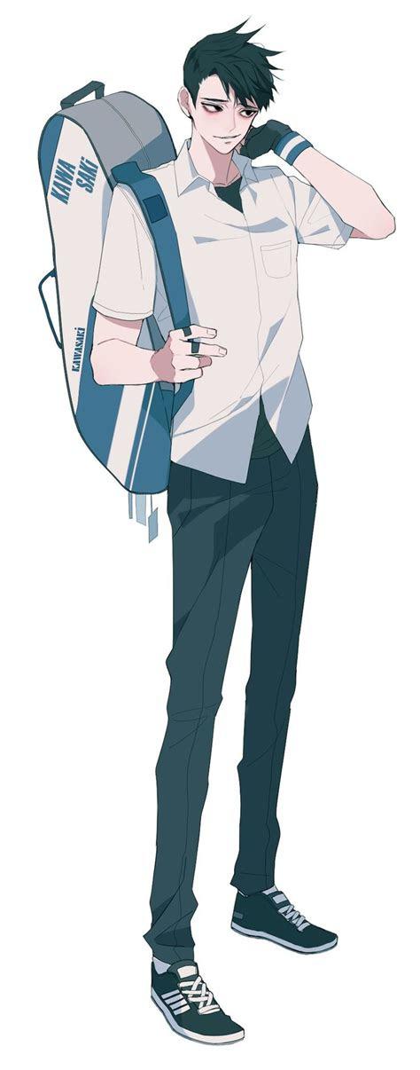 korean art images  pinterest anime guys