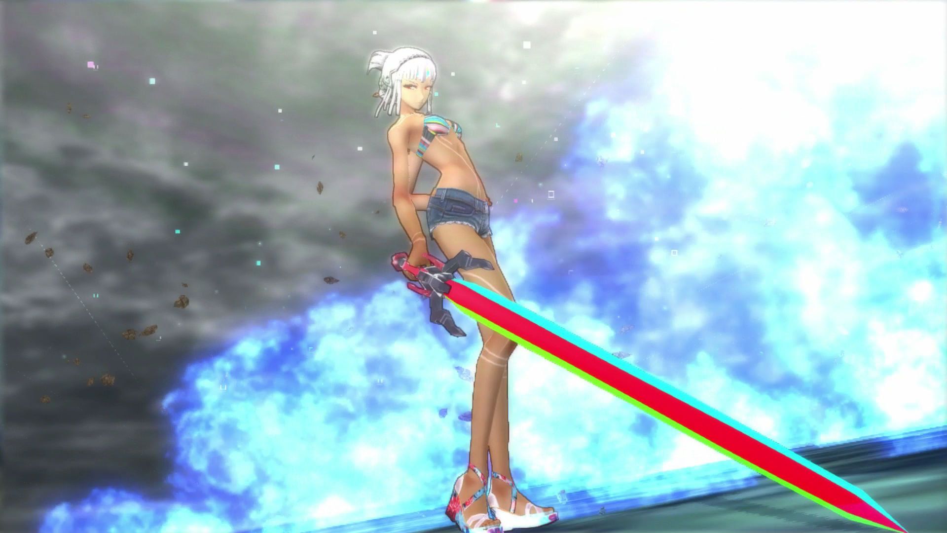 Playing Fate/Extella: The Umbral Star on Nintendo Switch is fun, but kind of a hassle screenshot