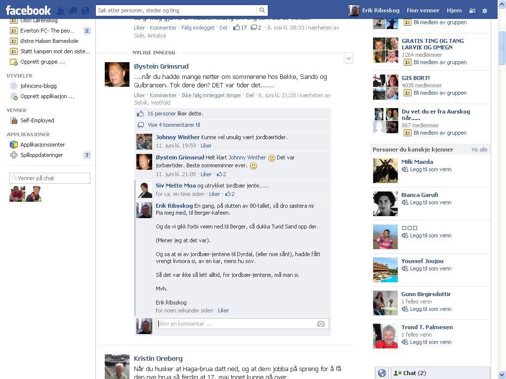 mer fra facebook sande sand