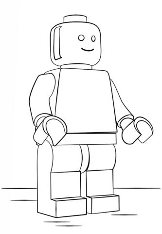 Disegni Da Colorare Omini Lego Coloradisegni