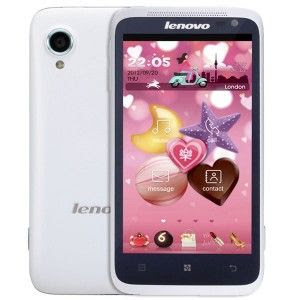 Lenovo LePhone S720 Android 4.0 SmartPhone 4.5 Inch IPS QHD Screen MTK6577 Dual Core 3G GPS - White