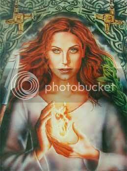 Goddess of Imbolc/Candlemas