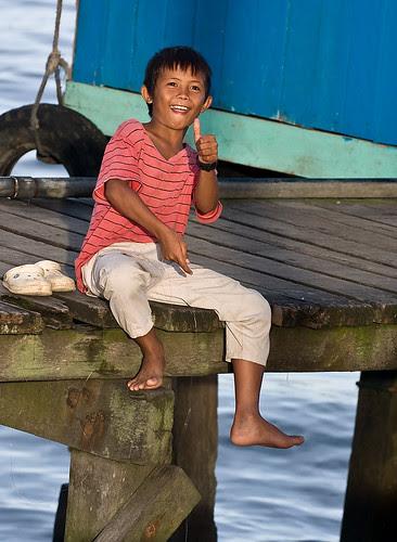 boy fishing at Lahad Datu...IMG_9024 copy