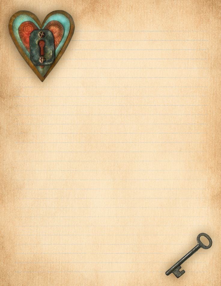 Printable Love Letter Backgrounds