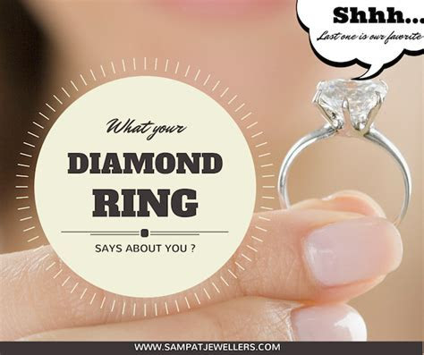 What does your Diamond Engagement ring say about you by