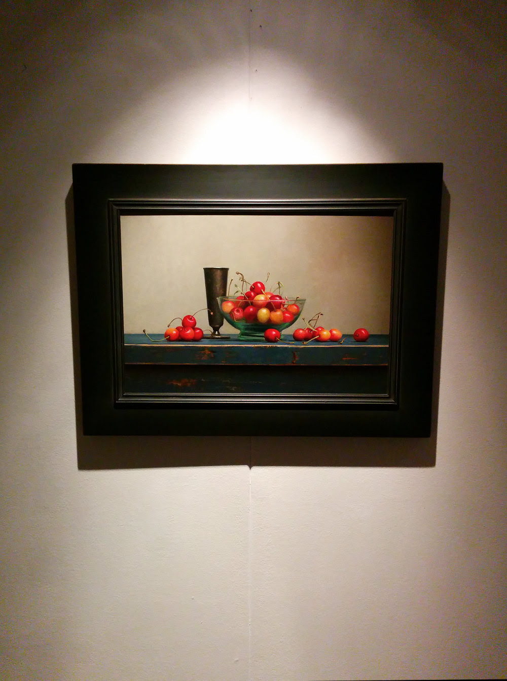 One of the new frames for the Annual Exhibition