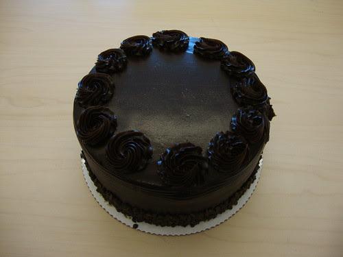 Joe's goodbye chocolate cake