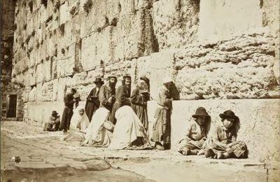 Majorité hébraïque de longue date à Jérusalem et inexistence historique du peuple palestinien: des vérités à taire!