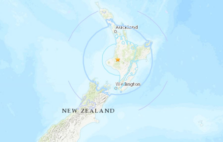 M6.1 earthquake new zealand, M6.1 earthquake new zealand map, M6.1 earthquake new zealand map october 2018, M6.1 earthquake new zealand map october 30 2018