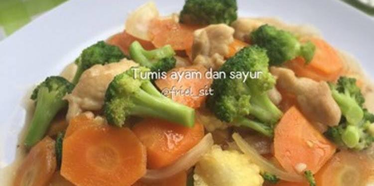 Resep Tumis Ayam Dan Sayur Kilattt Oleh Frielingga Sit