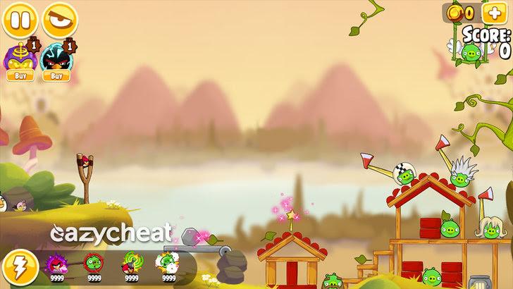 Angry Birds Seasons Cheats