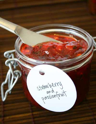 Strawberry and Passionfruit Jam