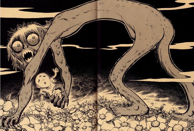 Tatsuya Morino - Morlock (from The Time Machine) - H.G. Wells, 1895