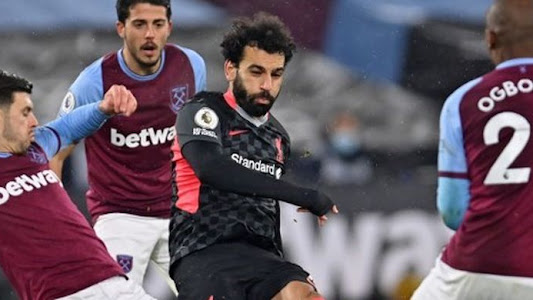Hasil West Ham Vs Liverpool, Salah Kembali Jadi Momok The Hammers Halaman all - Kompas.com