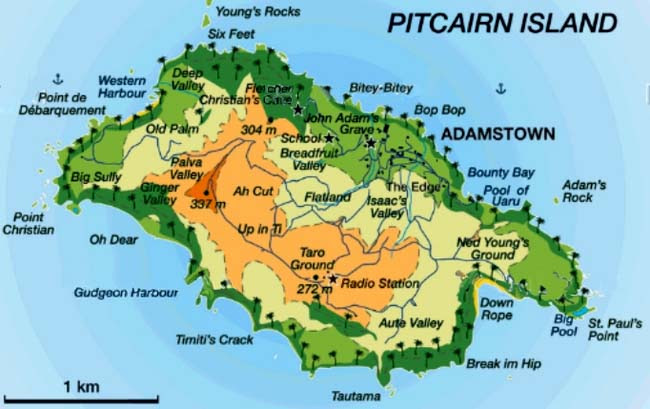 Pitcairn Island Countries Of The World