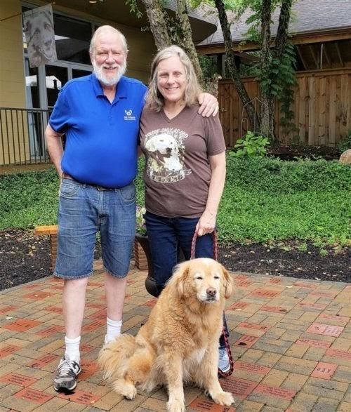 Una pareja da una nueva oportunidad a cientos de perritos que eran rechazados por ser mayores