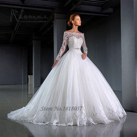 Aliexpress.com : Buy 2016 Design White Long Sleeve Wedding