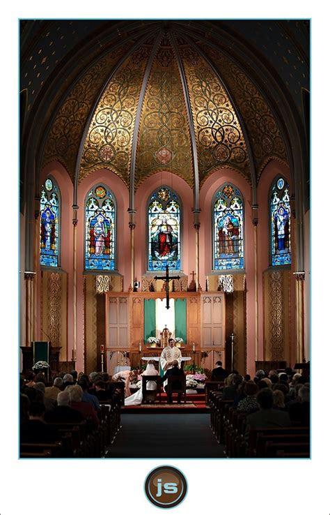 wedding  holy cross catholic church  marine city