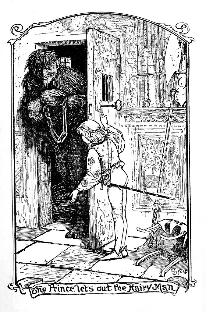 Henry Justice Ford - The crimson fairy book, edited by Andrew Lang, 1903 (illustration 2)