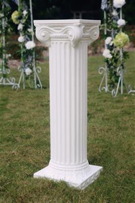 empire wedding column lightweight plastic columns