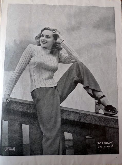 Bunny's Victory: My Vintage Wardrobe: 1940's Trouser Outifts