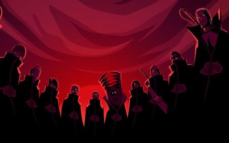 The Akatsuki Naruto Anime Background Wallpapers On Desktop Nexus Image 906580