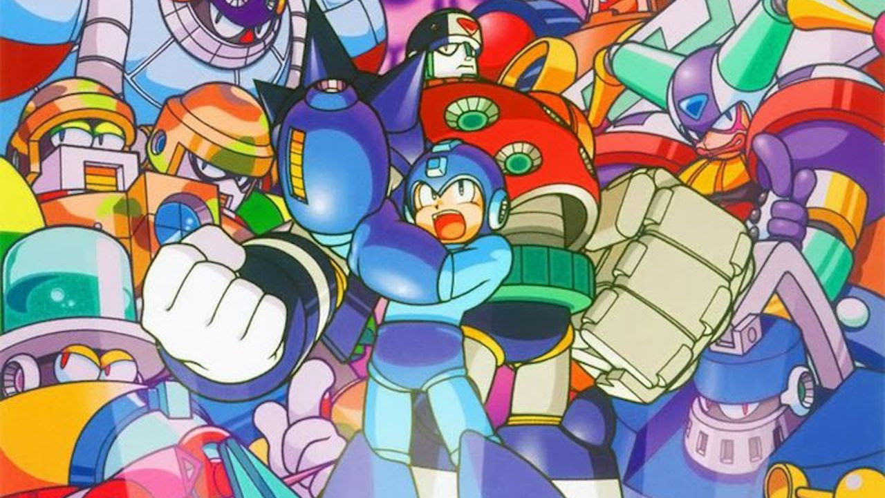 Mystery art appears in Mega Man Legacy Collection 2, confusing even the most diehard fans screenshot