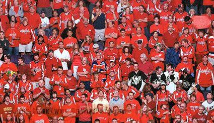 Capitals fans