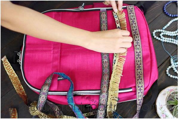 Sırt çantası Boyama Esranın Portresi