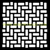 Licorice Allsorts  poly template 8x8 sold in 3\'s