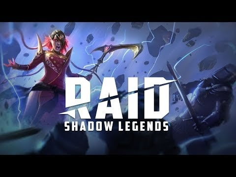 Raid: shadow Legends IOS and Android.